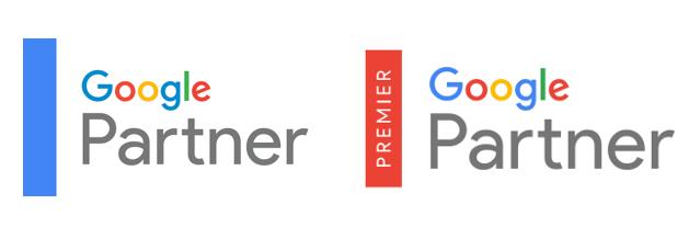 Badget Google Partner et Google Premier Partner